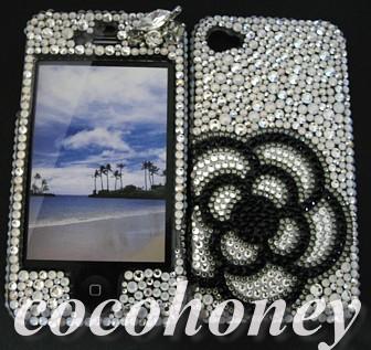 デコ電 iPhone4 スマートフォン カメリア
